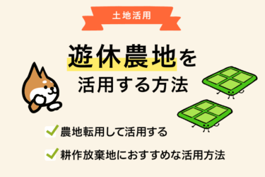 【農地の活用方法まとめ】遊休農地や耕作放棄地の活用方法