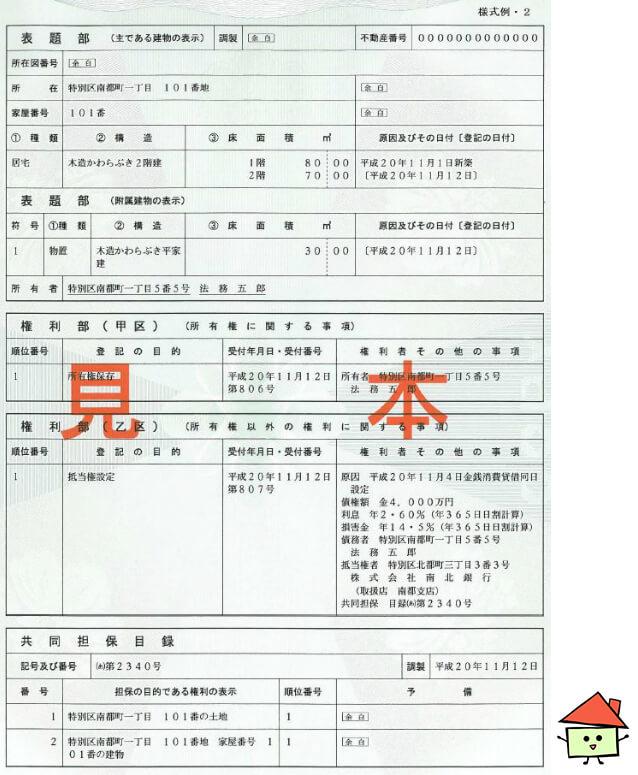 謄本 登記 簿
